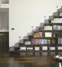 Cool space saving staircase designs ideas 40
