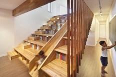 Cool space saving staircase designs ideas 48