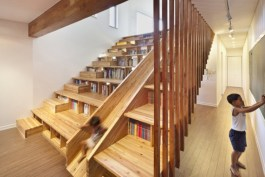 Cool space saving staircase designs ideas 48