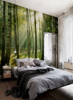 Cozy bedrooms design ideas with brilliant accent walls 15