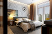 Cozy bedrooms design ideas with brilliant accent walls 22