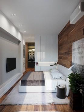 Cozy bedrooms design ideas with brilliant accent walls 25