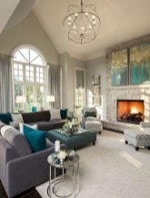 Creative living rooms design ideas for your inspiration 17