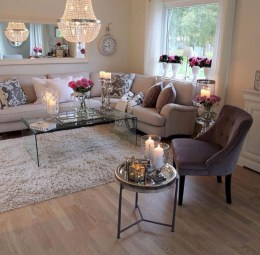 Creative living rooms design ideas for your inspiration 42