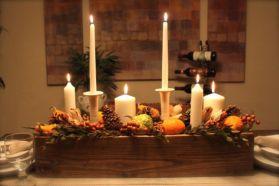 Fabulous christmas decoration ideas using candles 01