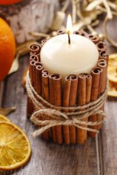 Fabulous christmas decoration ideas using candles 05