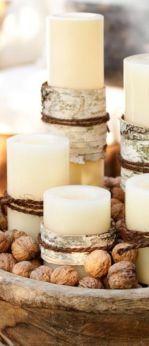 Fabulous christmas decoration ideas using candles 09