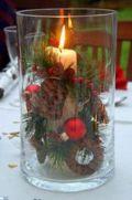Fabulous christmas decoration ideas using candles 26
