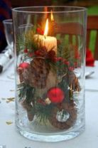 Fabulous christmas decoration ideas using candles 26