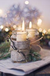 Fabulous christmas decoration ideas using candles 27