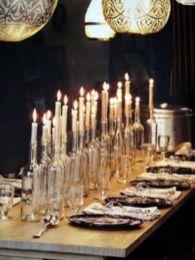 Fabulous christmas decoration ideas using candles 29