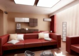 Gorgeous red and white living rooms ideas 35