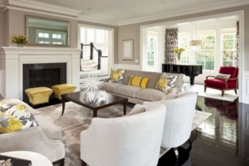 Gorgeous yellow accent living rooms inspiration ideas 04