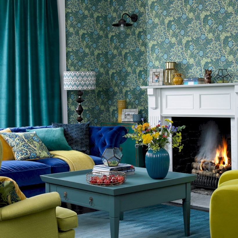 Gorgeous yellow accent living rooms inspiration ideas 07