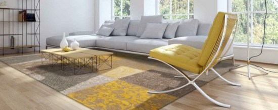 Gorgeous yellow accent living rooms inspiration ideas 16