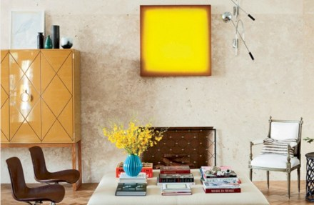Gorgeous yellow accent living rooms inspiration ideas 30