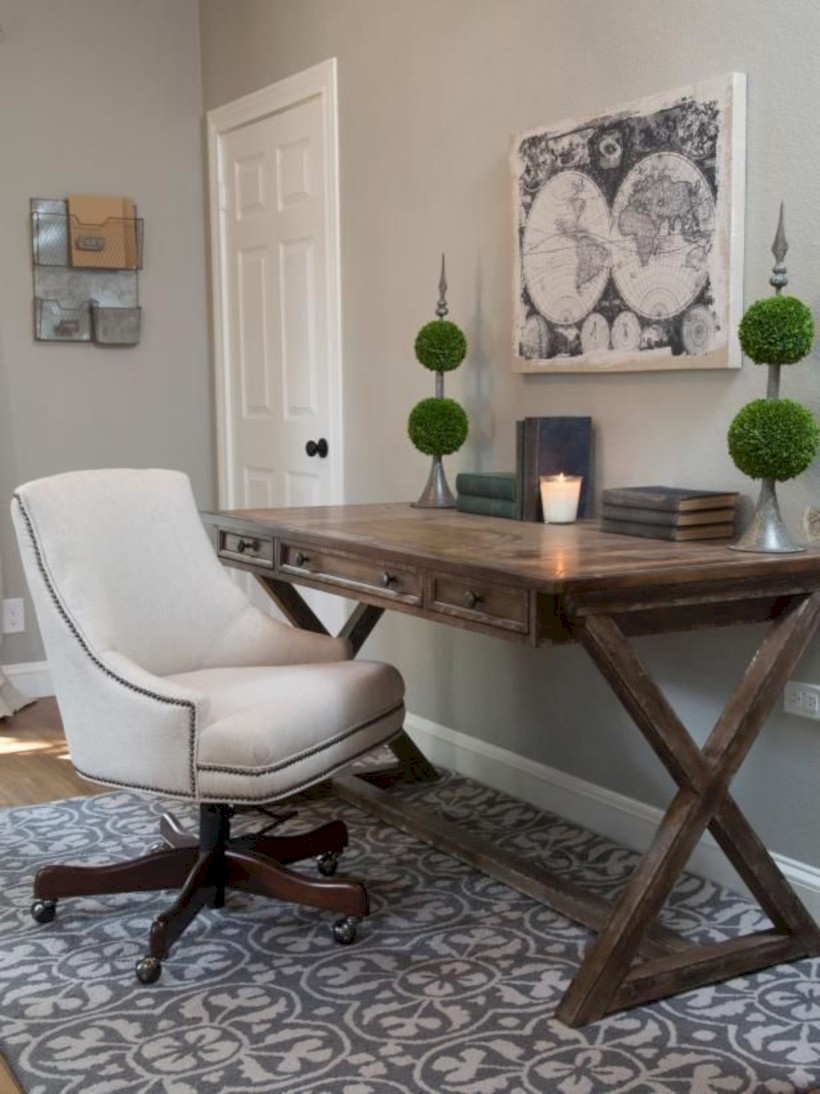 Inspirational home office desks ideas you will totally love 03