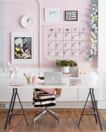 Inspirational home office desks ideas you will totally love 04