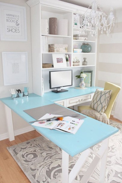 Inspirational home office desks ideas you will totally love 05