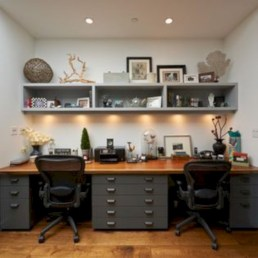 Inspirational home office desks ideas you will totally love 08