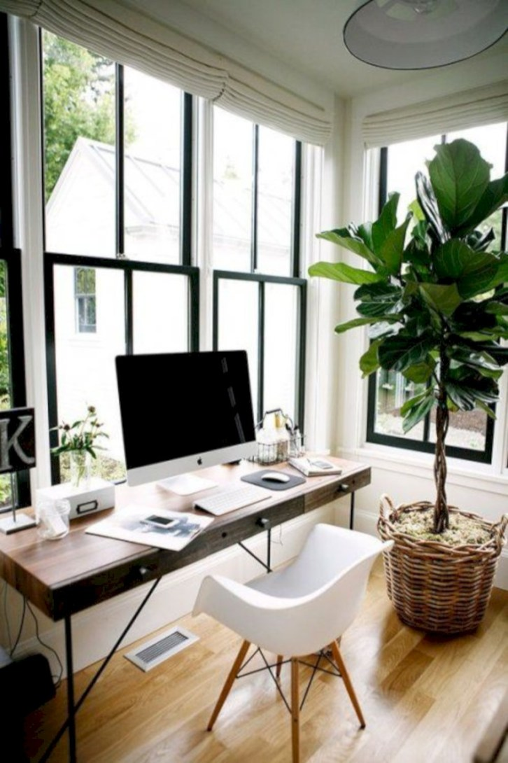 Inspirational home office desks ideas you will totally love 09