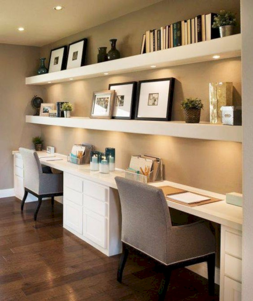 Inspirational home office desks ideas you will totally love 17