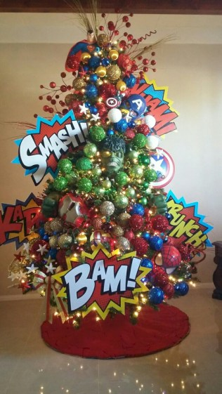 Inspiring christmas decoration ideas suitable for geek 30