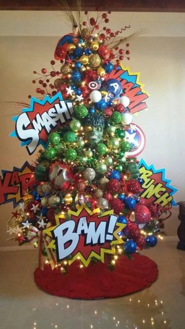 Inspiring christmas decoration ideas suitable for geek 30