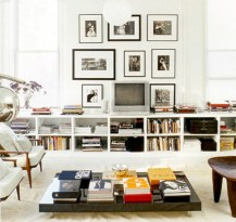 Modern living room wall units ideas with storage inspiration 12