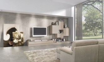 Modern living room wall units ideas with storage inspiration 26