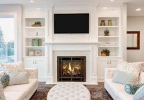 Modern living room wall units ideas with storage inspiration 28