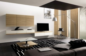 Modern living room wall units ideas with storage inspiration 32