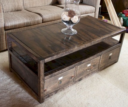 Modern and creative coffee tables design ideas 34
