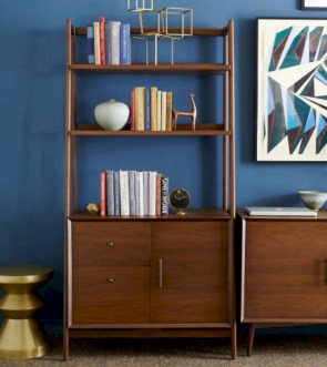 Original mid century modern bookcases ideas you'll love 30