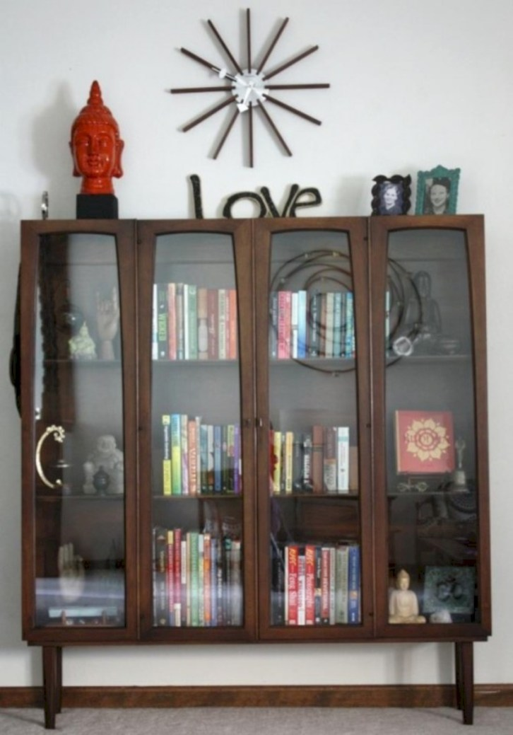 Original mid century modern bookcases ideas you'll love 33