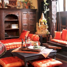 Relaxing moroccan living room decoration ideas 16