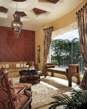 Relaxing moroccan living room decoration ideas 33