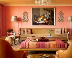Relaxing moroccan living room decoration ideas 45