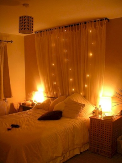 Romantic bedroom lighting ideas you will totally love 12