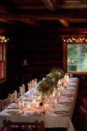 Simple rustic christmas table settings ideas 01