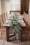 Simple rustic christmas table settings ideas 30