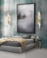 Stunning and elegant bedroom lighting ideas 26