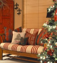 Stunning indoor rustic christmas decoration ideas 04
