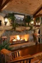 Stunning indoor rustic christmas decoration ideas 06