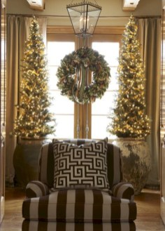 Stunning indoor rustic christmas decoration ideas 11