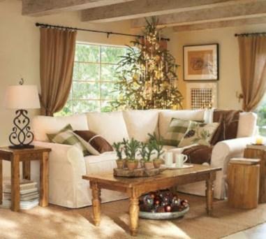 Stunning indoor rustic christmas decoration ideas 19