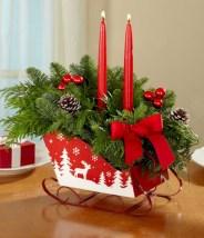 Stunning indoor rustic christmas decoration ideas 28