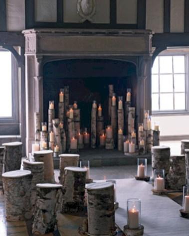 Stunning indoor rustic christmas decoration ideas 31