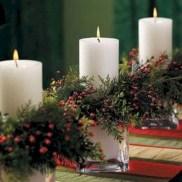 Stunning indoor rustic christmas decoration ideas 33