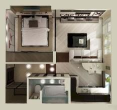 Stylish studio apartment floor plans ideas 02